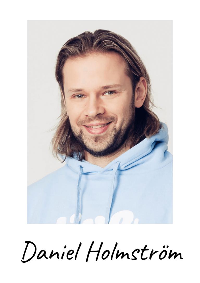 Co-founder Daniel Holmström