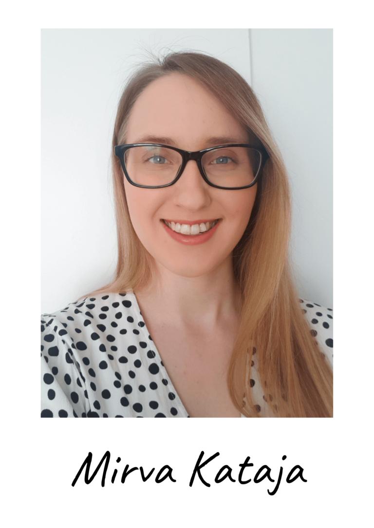 Finance and HR coordinator Mirva Kataja